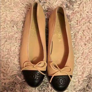 Chanel Double C Ballet Flats